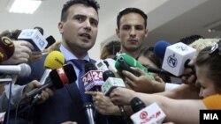 Zoran Zaev, lider i Partisë Social-Demokrate në Maqedoni.