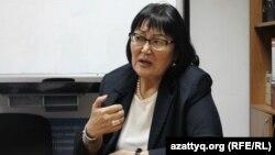 Бахыт Туменова, врач, президент общественного фонда «Аман-саулык». Алматы, 29 ноября 2016 года.