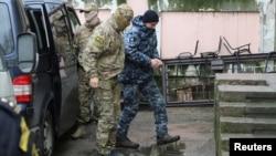 Захваченный ФСБ украинский моряк Сергей Цибизов