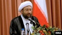 آیتالله صادق لاریجانی، رییس قوه قضاییه جمهوری اسلامی