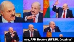Пресс-конференция Александра Лукашенко во Дворце Независимости