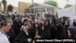 تظاهرة لذوي مفقودي الحرب الداخلية في إقليم كردستان العراق