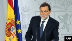 ماریانو راخوی میگوید نوع رویکرد دولت محلی کاتالونیا چاره دیگری برای او باقی نگذاشته است