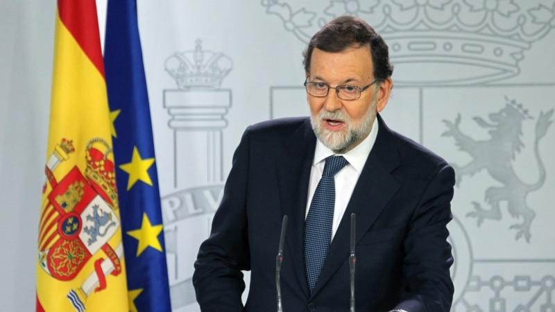 دولت اسپانیا از قصد خود برای انحلال دولت محلی کاتالونیا خبر داد