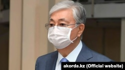 Президент Казахстана Касым-Жомарт Токаев. В марте прошлого года Токаев сменил на президентском посту Нурсултана Назарбаева, который после 30 лет правления сложил полномочия, однако сохранил в руках значительную власть.