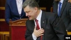 На снимке: Петр Порошенко