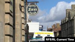Вывеска ресторана Zizzi