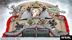 Putin si Donbasul.