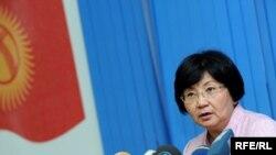 Kyrgyz President Roza Otunbaeva