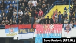 Različite zastave srpskih navijača