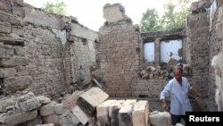 Урната куќа по немирите во Ош