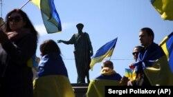 Ukraynada müharibəyə etiraz aksiyası, 2014-cü il