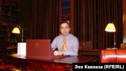 Директор тбилисского Дворца искусств Георгий Каландия