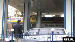 A gas station in Dushanbe (file photo)