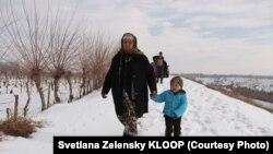 Жители сел на кыргызско-таджикской границе