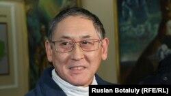 Бигельды Габдуллин в суде, где его обвиняют в вымогательстве. Астана, 24 января 2017 года.