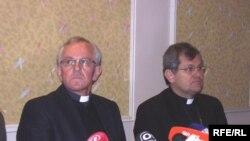 Biskupi Pero Sudar i Vlado Košić, foto: Enis Zebić