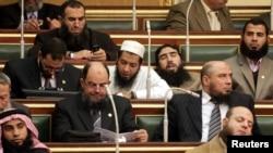 Египетски парламент, 23 јануари 2012