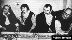 Елена Боннер, Сафинар Джемилева, Мустафа Джемилев, Андрей Сахаров; хроника