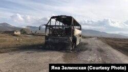 Армянское село Сотк с 27 сентября ежедневно обстреливают, 30 сентября ракета попала в пассажирский автобус