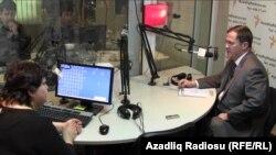 Թոմաս Մելիան «Ազատություն» ռադիոկայանի ադրբեջանական ծառայությունում, արխիվ