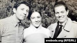 Валянцін і Галіна Краўцы, Уладзімер Караткевіч