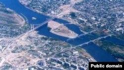 Вид на центральную часть города Семея. Иллюстративное фото.