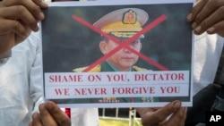 Thailanda: protest împotriva puciului militar din Myanmar.