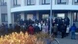 Protest pentru alimente la Makeevka