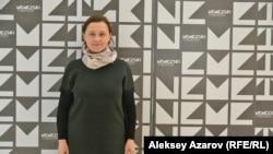 Главный режиссер и директор Республиканского немецкого драматического театра Наталья Дубс. Алматы, 16 ноября 2018 года.