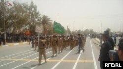 استعراض قوات الأمن العراقية في بعقوبة 29 حزيران 2009