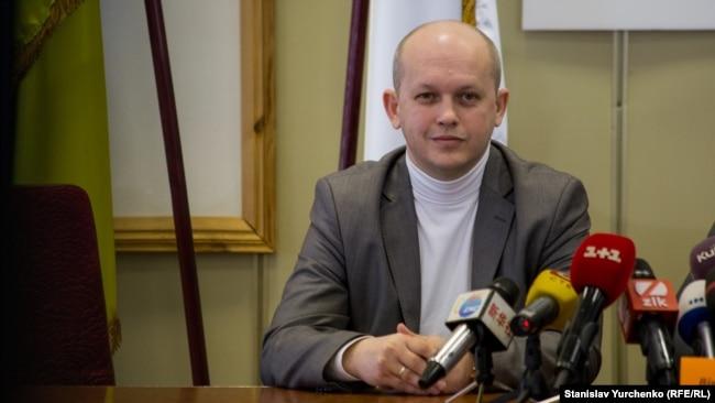 Очільник заповідника Тарас Мельничук