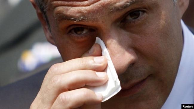 Boris Tadić u Srebrenici, 2010.