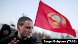 """Один из лидеров """"Левого фронта"""" Сергей Удальцов"""