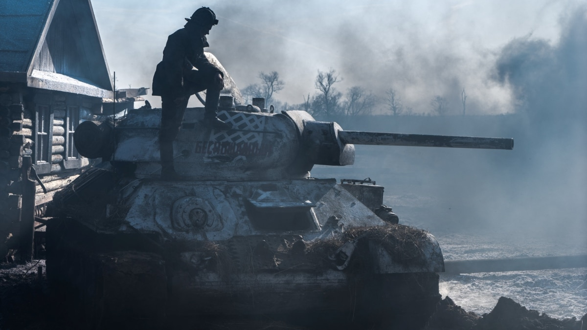 Tank Battle Scene 3 – from the Movie T34