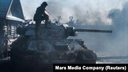 Ukraine asserts that the film T-34 is propaganda. Russia says Ukraine is interfering in U.S. affairs.