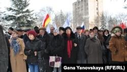 Митинг был организован Общественной палатой республики, которая получила на его проведение разрешение городских властей