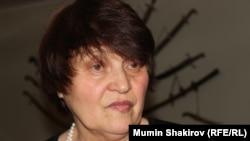 Сафинар Джемилева, супруга Мустафы Джемилева, мать Хайсера.