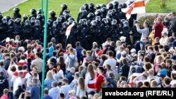 «Марш герояў» у Менску. Шмат фота