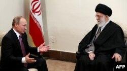 Путин и Хаменеи