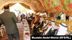 اجتماع لشيوخ عشائر الانبار وكربلاء بعد حادثة النخيب