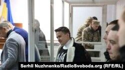 Надія Савченко в Шевченківському суді Києва, 23 березня 2018 року