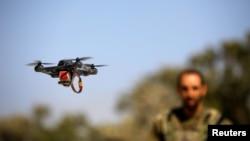 Dron kojim upravlja izraelski vojnik, Izrael, juni, 2018.