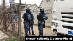 Массовые обыски в домах крымских татар, март 2019 г.