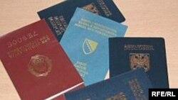 BiH, pasoši zemalja regije
