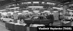 Конвейер технического обслуживания спецавтоцентра, 1975 год