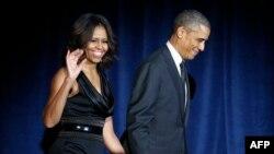 Zonja e parë amerikane, Michelle Obama dhe presidenti amerikan, Barack Obama