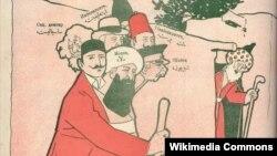 «Molla Nəsrəddin» (1910, #22)