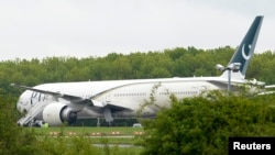 The Pakistan International Airlines plane was travelling from Saudi Arabia. (file photo)
