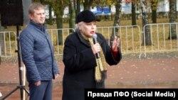 """""""Кто же, если не я?"""" Тамара Манаева не пропускает ни одного митинга """"Справедливой России"""""""